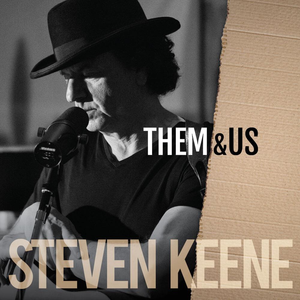 Them & Us Cover: Steven Keene